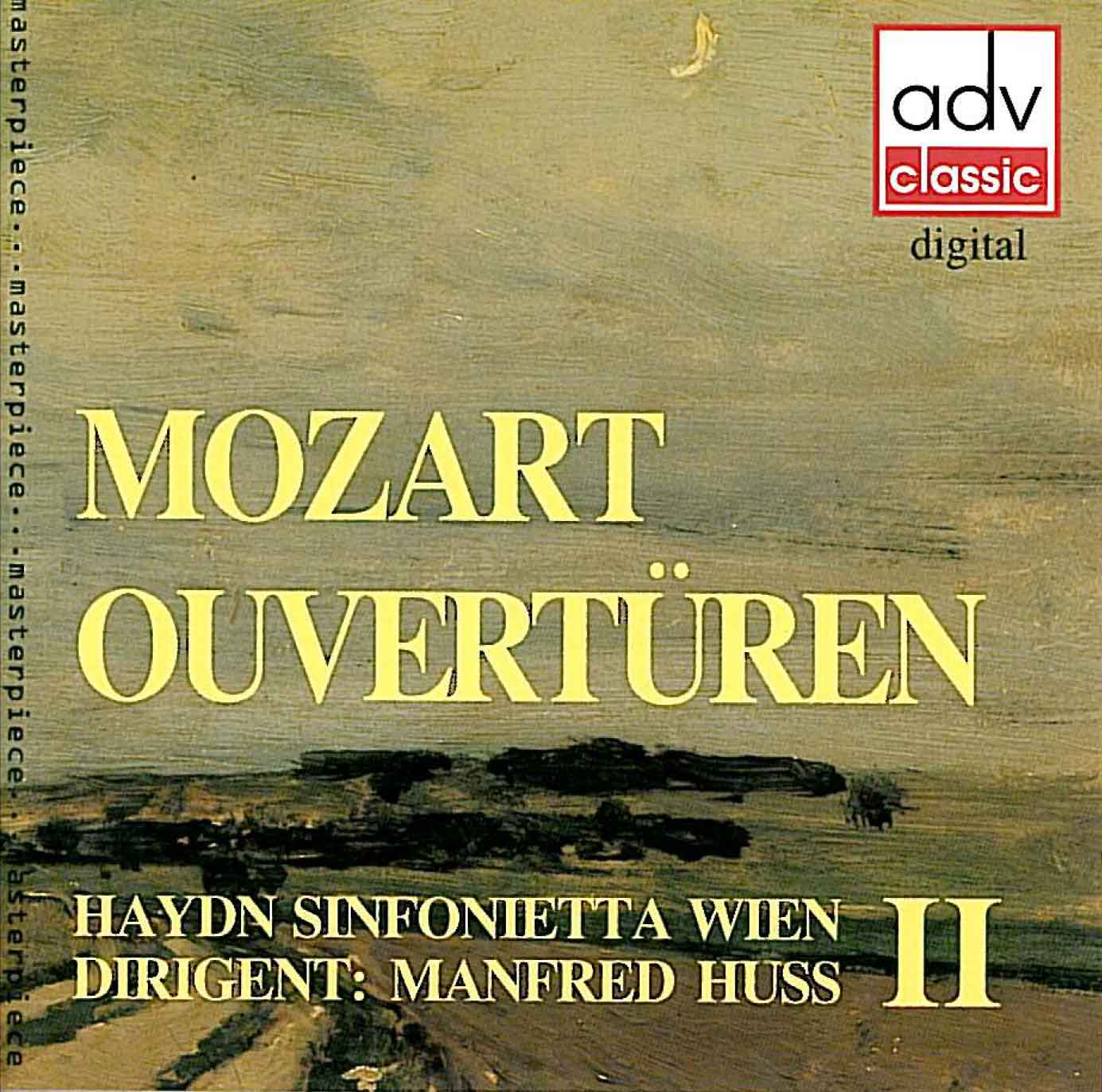 Mozart Overtures 2 Cover